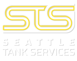 STS logo tall vertical